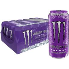zerocalorie, monsterenergyultraviolet16oz24pk, sugarfreemonsterenergydrink, energydrink