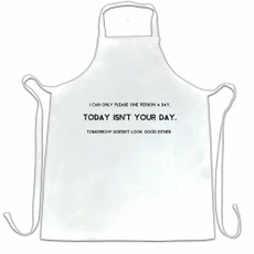 apron, slogan, joke, Novelty