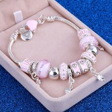 pink, Jewelry, Bracelet, Women's Fashion