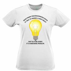 Light Bulb, code, joke, Novelty