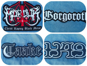 1349, marduk, Patch, Metal