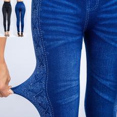 Leggings, Fashion, Waist, Elastic