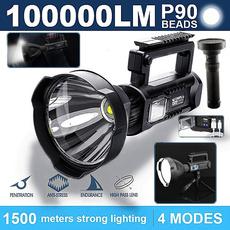 Flashlight, fishinglight, Outdoor, led