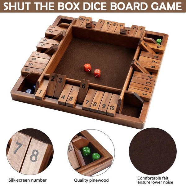 Box, Funny, Toy, Dice