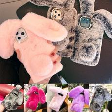 fluffy, Bling, rabbit, iphone11promaxcase
