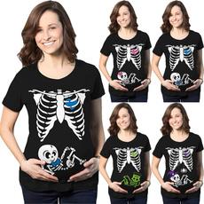 cute, Plus Size, Skeleton, halloweentshirt