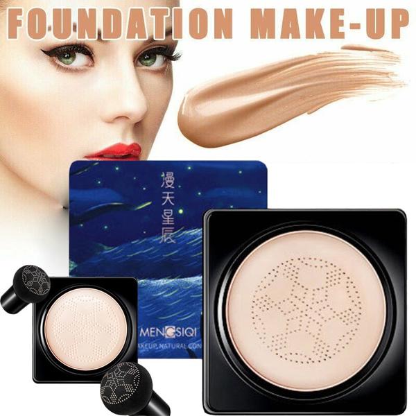 Head, Beauty, Mushroom, moisturizingfoundation