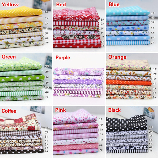 Cotton fabric, Quilting, diyfabricmaterial, Home & Living