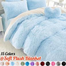 fur, Winter, blanketsforbed, plushblanket