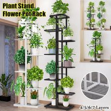 flowerpotstand, Plants, Outdoor, Garden
