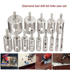 Ceramic, holecutter, Glass, diamondholesaw