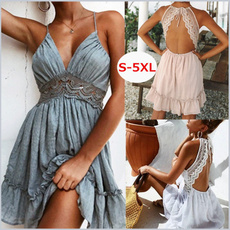 Summer, summer dress, pleated dress, Encaje