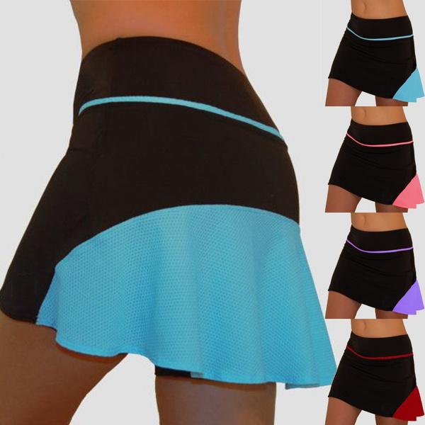 Mini, running skirt, Plus Size, fitnessskirt