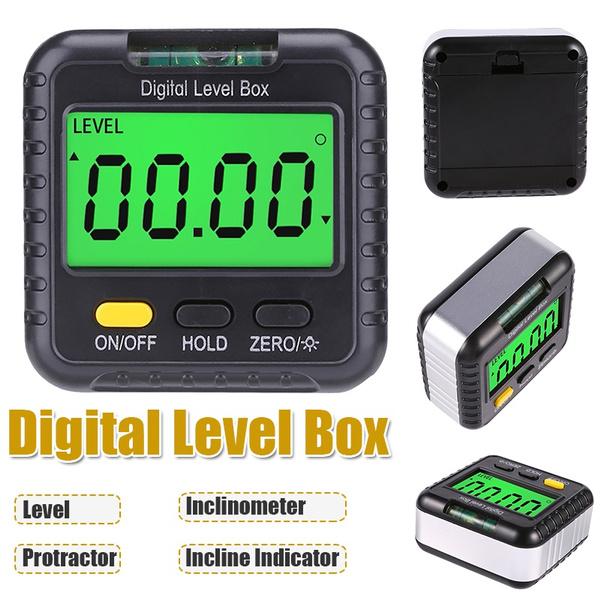 inclineindicator, anglefinder, Mini, electroniclevelruler