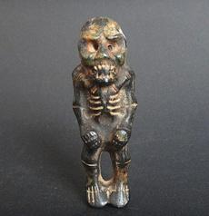 jade, black, Skeleton, Iron