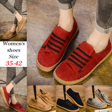 Shoes, Flats, Fashion, Manual