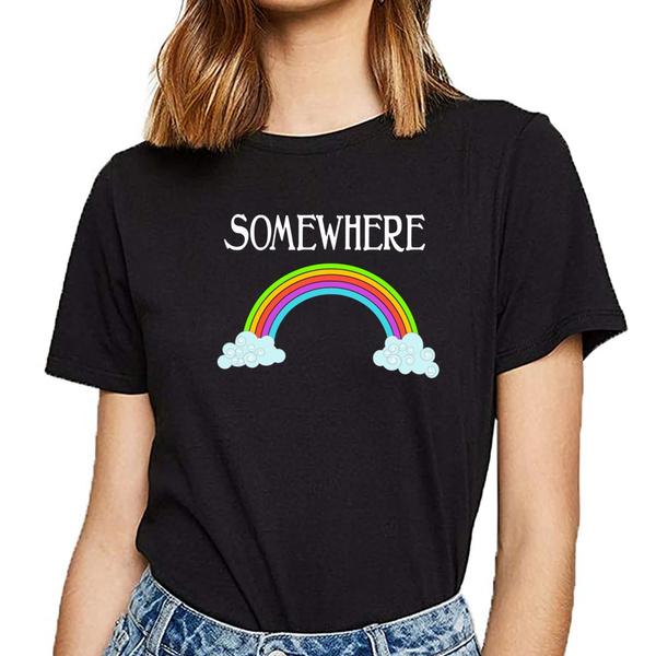 Women's Fashion, rainbow, Plus Size, Cotton