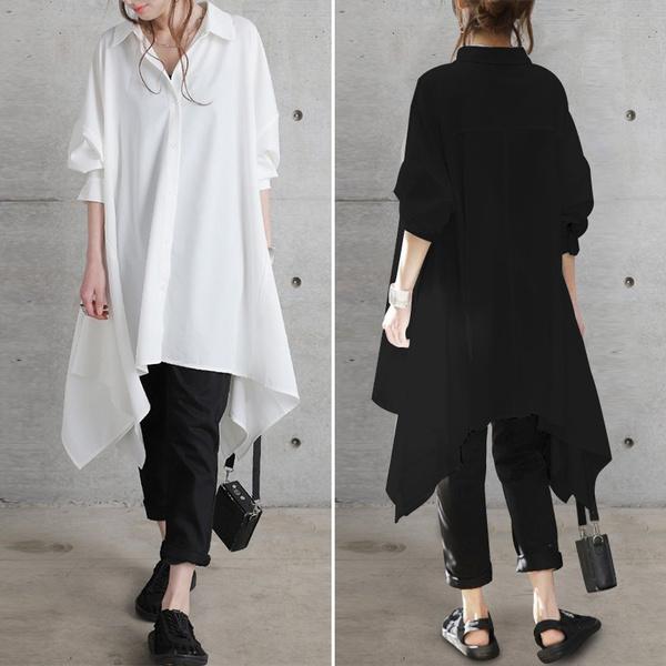blouse, Collar, Fashion, baggyshirt