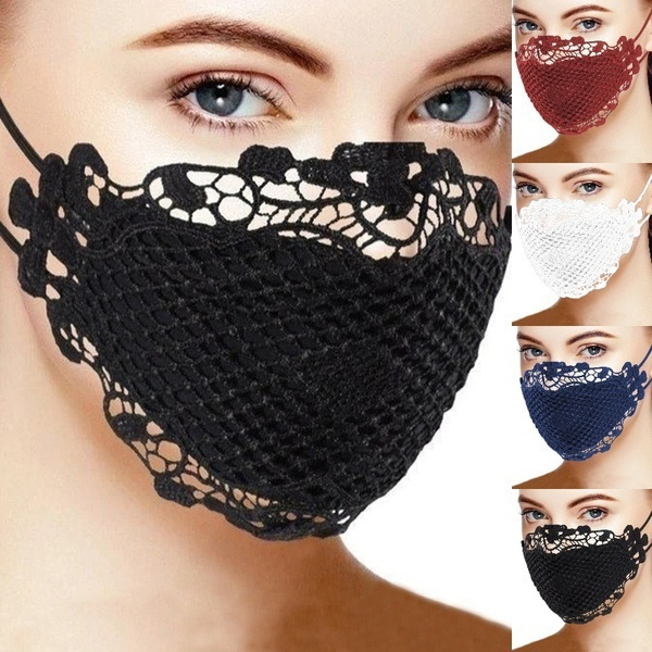 Fashion, mouthmask, Lace, Cover
