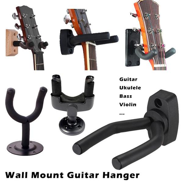 Wall Mount, Bass, Hooks, Acoustic Guitar