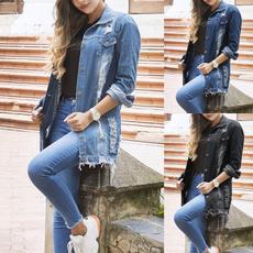 Spring Fashion, Summer, jeanjacket, Plus Size