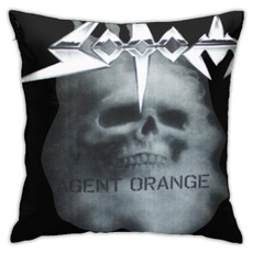 holdpillow, pillowshell, Orange, couchpillowcover