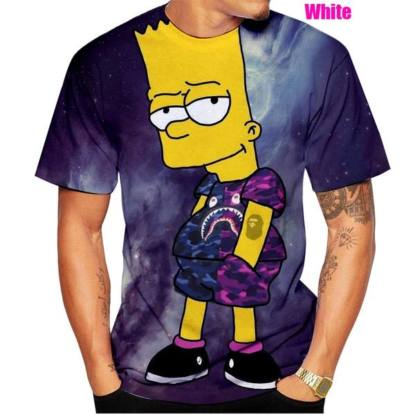 Funny, Shirt, Harajuku, 3D T-shirt