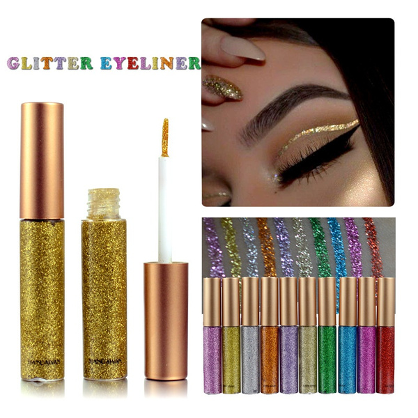 eyemakeupart, waterproofeyelinerglitter, DIAMOND, Jewelry