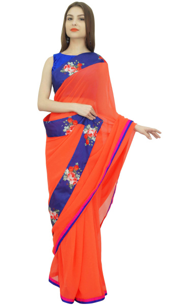 blouse, Orange, Fashion, Clothing