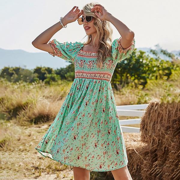 Fashion, Print Dresses, strappydres, Classics
