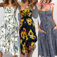 Women's Fashion, Sleeveless dress, Plus Size, Fashion