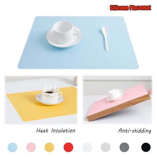 Kitchen & Dining, Coasters, Waterproof, Silicone