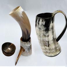 viking, handicraft, Cup, beermug