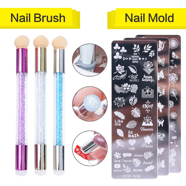 Sponges, Stamping, Beauty, Silicone