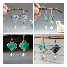 Antique, rainbow, Dangle Earring, Jewelry