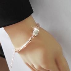 Charm Bracelet, goldplated, Fashion, Jewelry