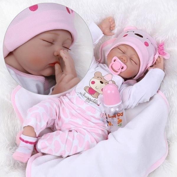 cute, softdoll, doll, Silicone