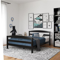 Wood, black, bedroom, Home & Living