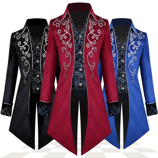 Goth, Fashion, menstailcoat, Steampunk