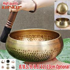 yogabowl, Copper, meditationproduct, mallet