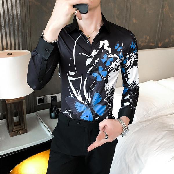 shirts for men, Fashion, personalityshirt, Shirt