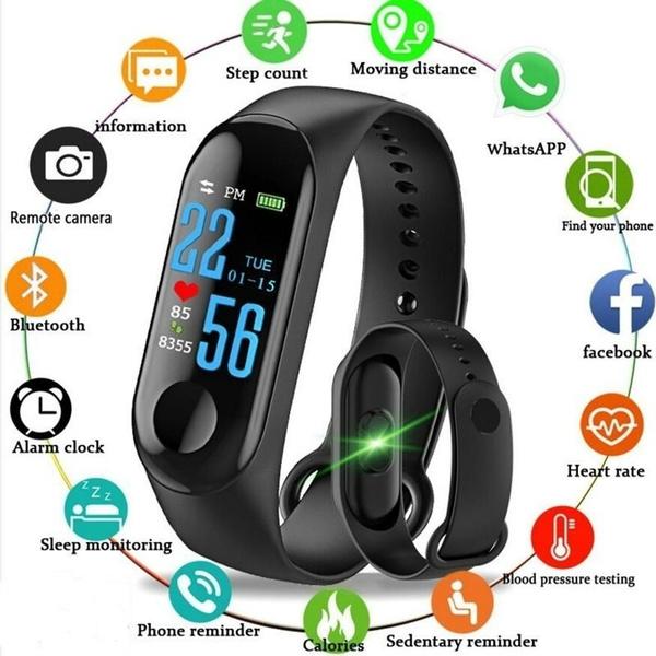 Heart, led, Monitors, Fitness