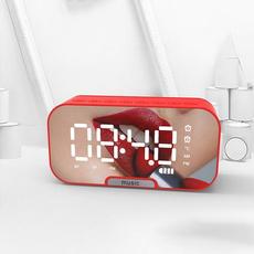 led, Clock, Alarm, Mirrors