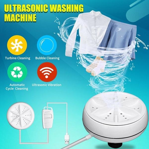 portableturbinepersonalrotarywashingmachine, Laundry, usb, Mini