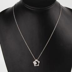 silverplatedneckalce, Flowers, chainsnecklace, Jewelry
