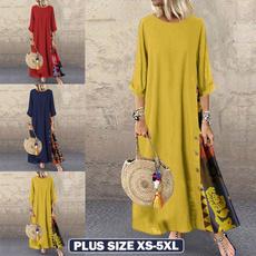 Swing dress, dressesforwomen, Sleeve, long dress