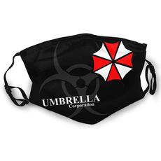 residentevil, umbrellacorporationfacemask, residentevilmask, Masks