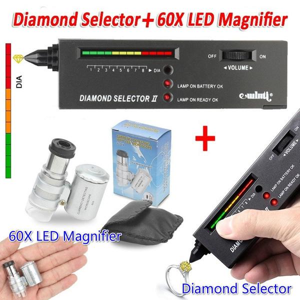 diamondtestertool, gemstoneselector, led, diamondselectortestertool