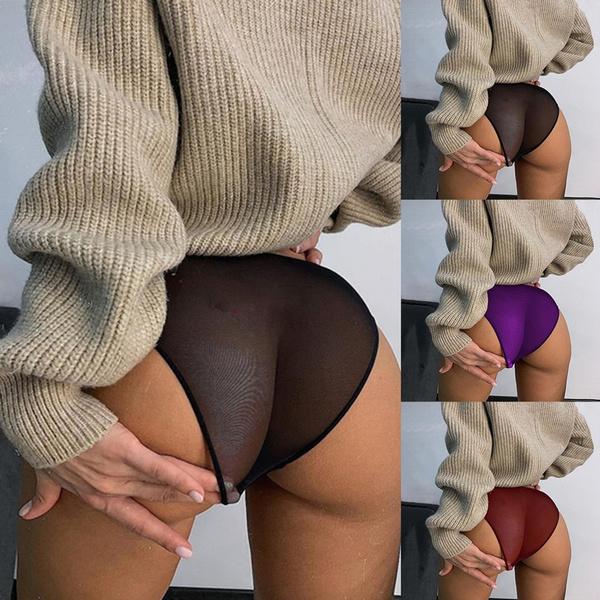 Plus Size, Lace, see through, Panties