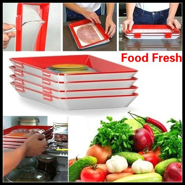 Plates, Kitchen & Dining, tupperware, foodpreservationtray